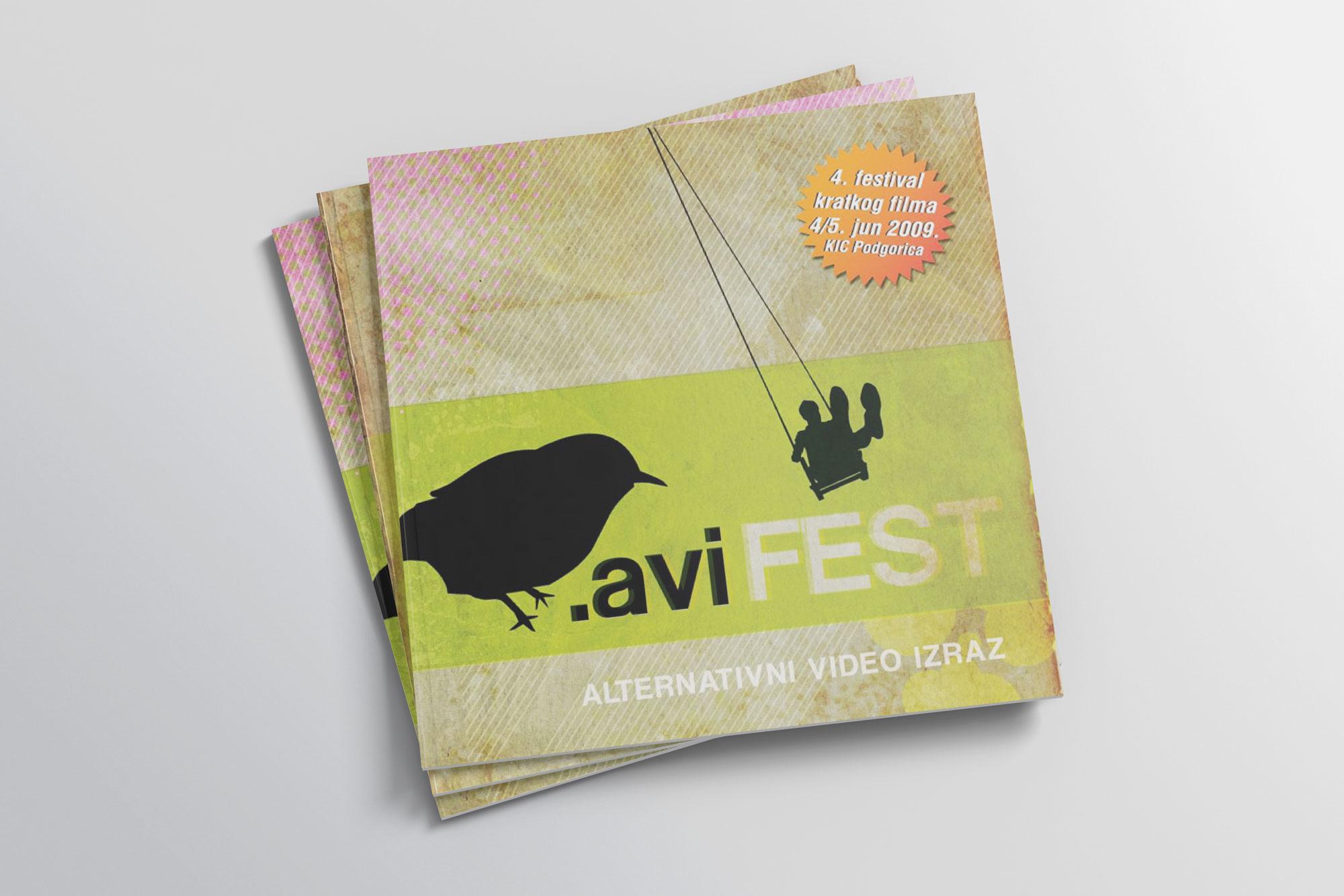 avi fest identity by Jovo vukcevic / jovonanovo.me